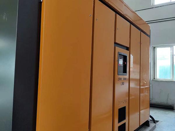 多台永磁空压机服务于集团公司