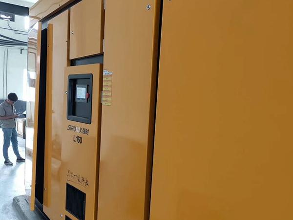 低压永磁空压机助力于某企业